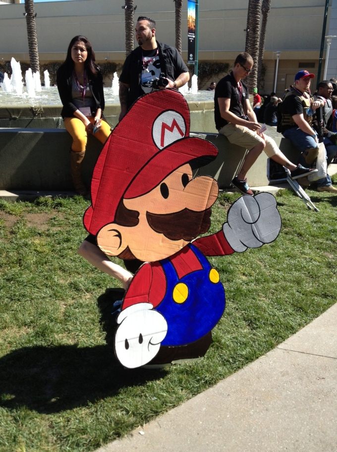 Real life Paper Mario.