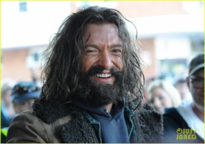Jackman needs to shave