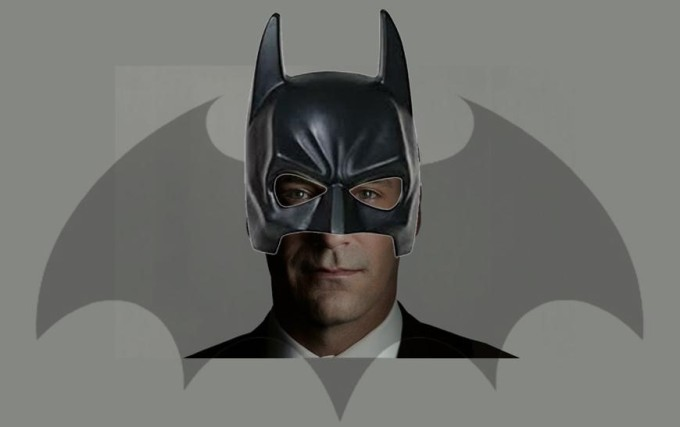JON HAMM FOR BATMAN! 2015.